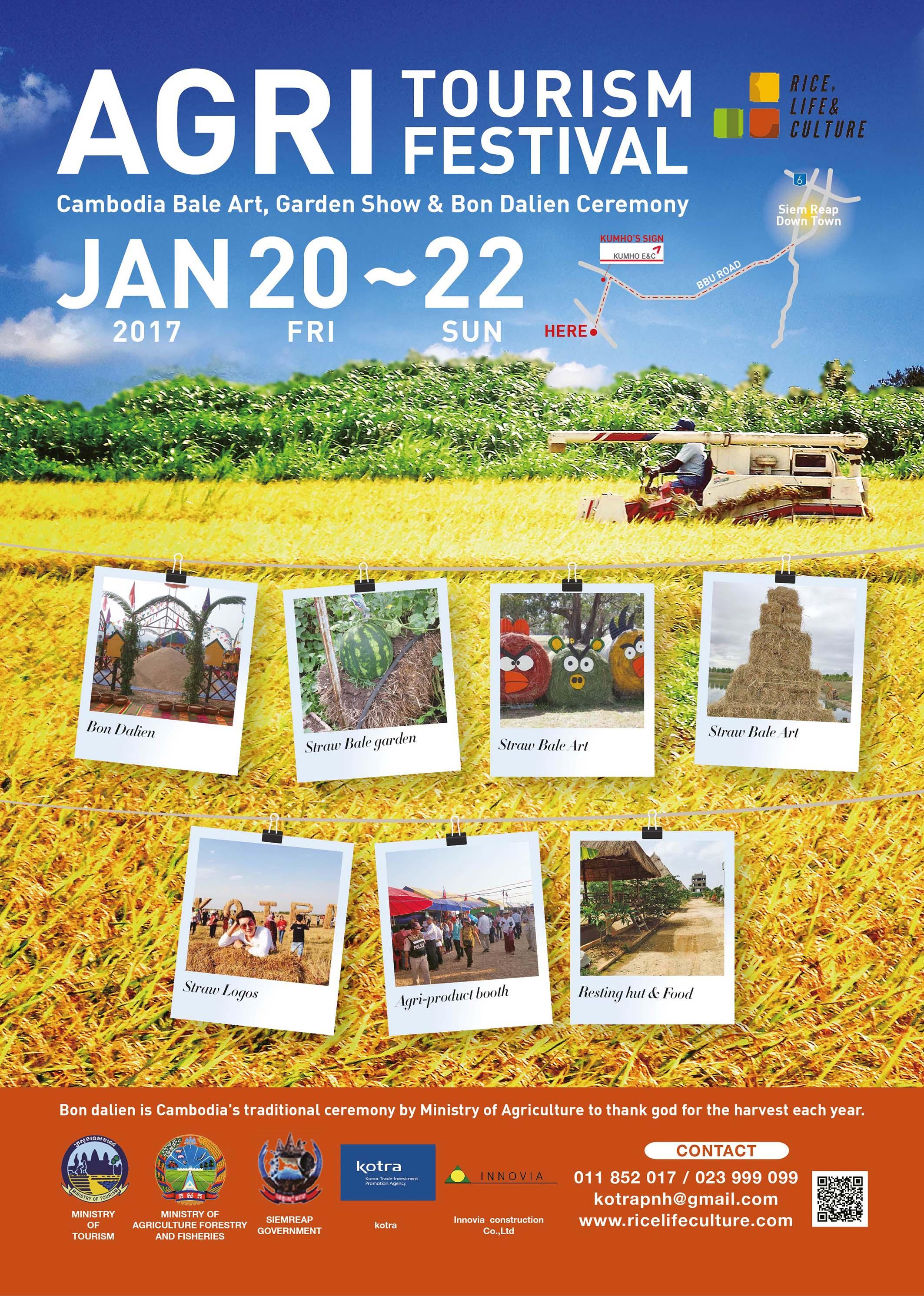 AGRI Tourism Festival @ Siem Reap